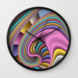 3D for duffle bags and more -27- Wall Clock