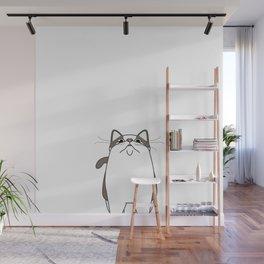 Cat Air Wall Mural