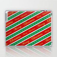 Christmas Wrapping Paper Laptop & iPad Skin