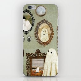There's A Ghost in the Portrait Gallery iPhone Skin