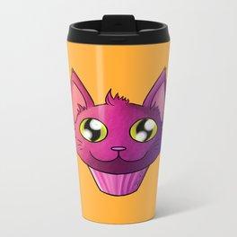 Super Kawaii Neko Muffin Metal Travel Mug