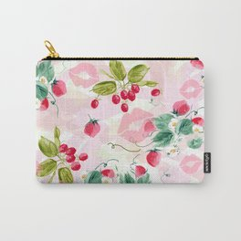 strawberries w kisses Carry-All Pouch