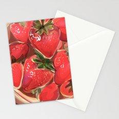 fraises. Stationery Cards