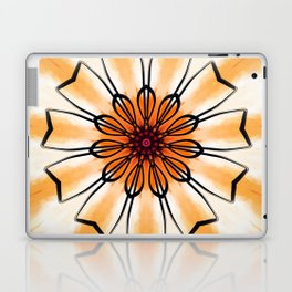 Marigold Flower Mandala Design Laptop & iPad Skin
