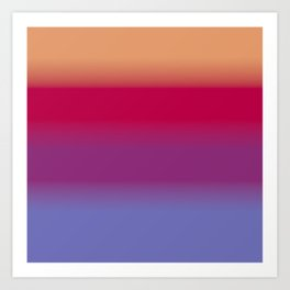 Sunset and Water Art Print