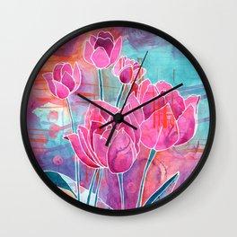 Fierce Faith Wall Clock
