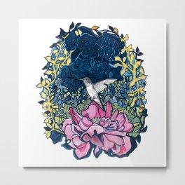 Hummingbird Token Metal Print