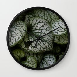 Icy Brunnera Wall Clock