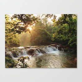 Sunset on the Springs Canvas Print