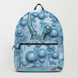Metal Mermaid Backpack