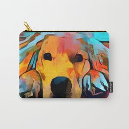 Golden Retriever 4 Carry-All Pouch