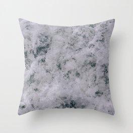 Stormy Seas II Throw Pillow