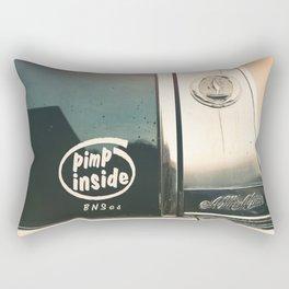 ain't I clean, bad machine Rectangular Pillow