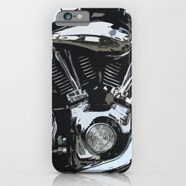 V Twin iPhone Case
