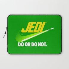 Brand Wars: Jedi - green lightsaber Laptop Sleeve