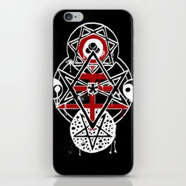 Thelemic Tree iPhone Skin