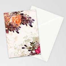Vintage rose garden Stationery Cards