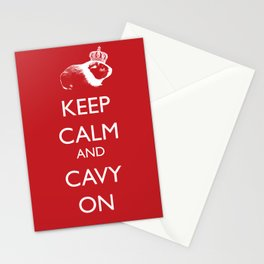 Keep Calm Cavy On Stationery Cards
