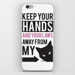 Women March Hands iPhone Skin
