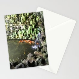 Fish Waterfall Stationery Cards