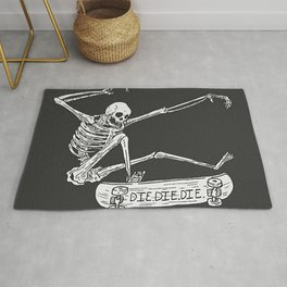 Cool Skeleton Rug