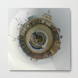 Thames Riverboat Metal Print
