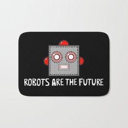 Robots are the Future Bath Mat