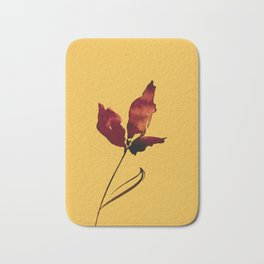 Floral Abstract No.2s by Kathy Morton Stanion Bath Mat