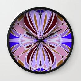 Hidden heart and geometrical shapes Wall Clock