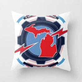 If You Seek a Bad Ass Peninsula... Throw Pillow
