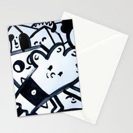 Black 1 Stationery Cards