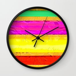 Intense Wall Clock