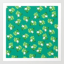 Substitute pattern Art Print