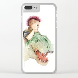 Tyrant Clear iPhone Case