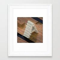 3d Framed Art Prints featuring 3d by Posticks