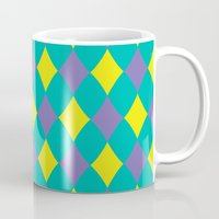 preppy Mugs featuring Preppy by machmigo