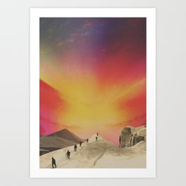 The Quest Art Print
