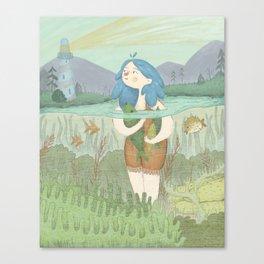 Ran Canvas Print