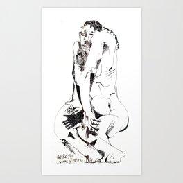 ARROYO carne y patria Art Print
