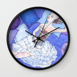 Lithodora Wall Clock