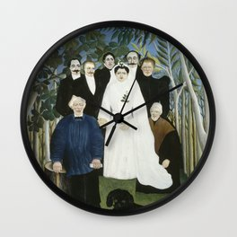 The Wedding Party Wall Clock