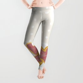 Independent donut hearts Leggings