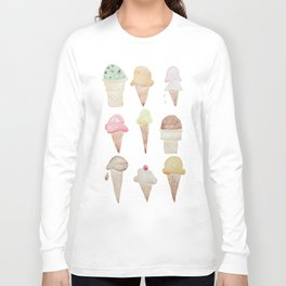 Ice Cream Paint Job Long Sleeve T-shirt