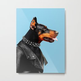 Dobermann Metal Print