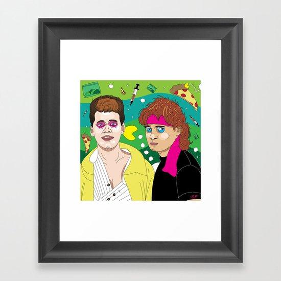 Lost Boys Framed Art Print