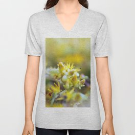 Yellow Sedum Unisex V-Neck