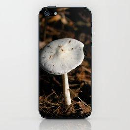 mushroom in the sun iPhone Skin