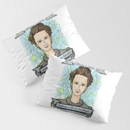 Marie Curie Pillow Sham