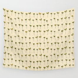 sprouts cream Wall Tapestry