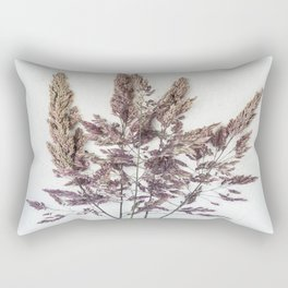 Velvet Grass Rectangular Pillow